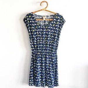 Banana Republic Bird-Print Dress